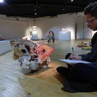 Atelier «Mise en mots», stage céramique, lecture publique