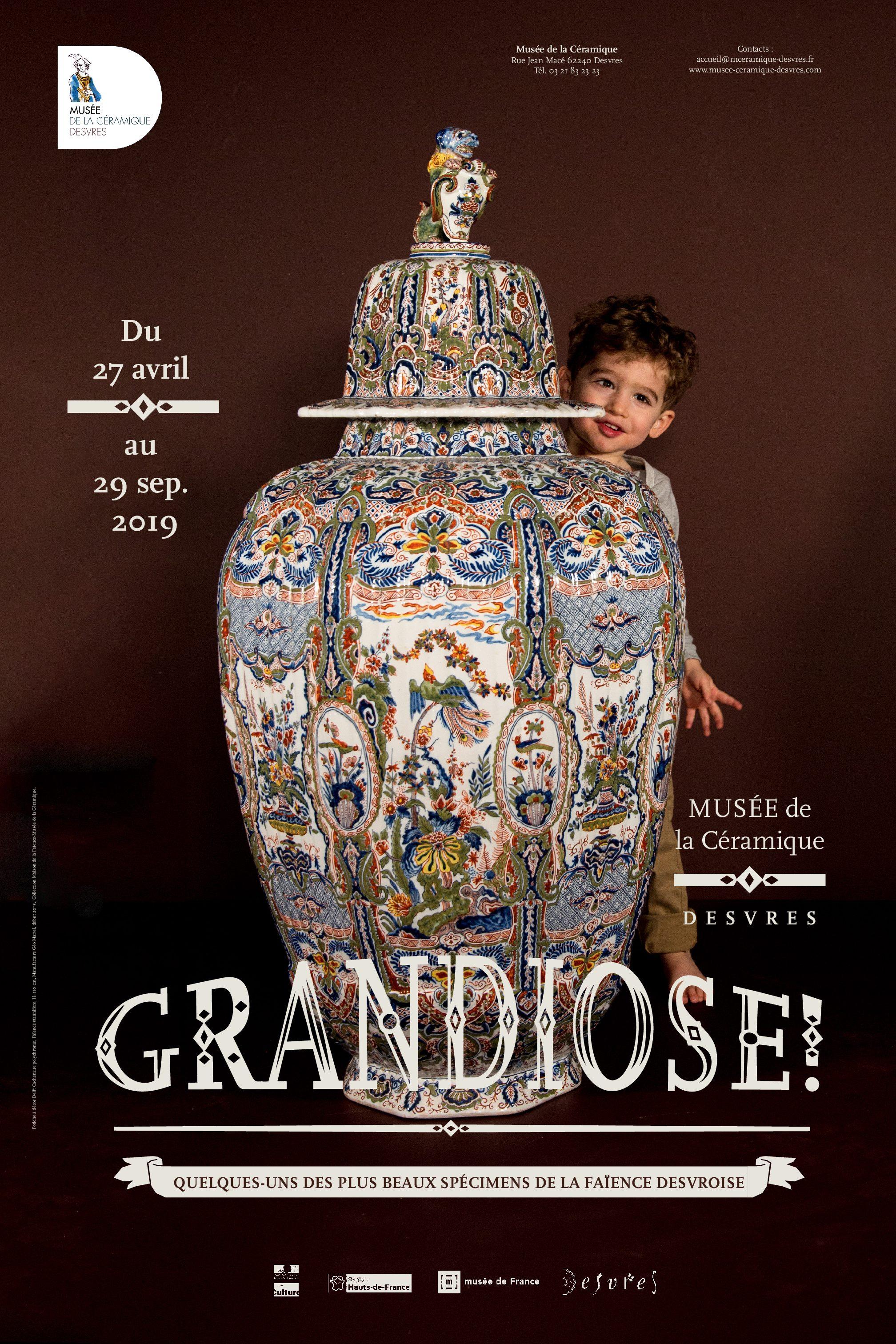 Prolongation de l'exposition «GRANDIOSE!»